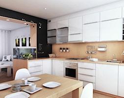 ciąg roboczy kuchenny - zdjęcie od RESE Architekci Studio Projektowe