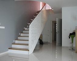 Balustrada stalowa - Schody, styl nowoczesny - zdjęcie od Custom-Fold - Homebook