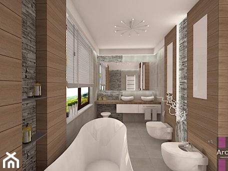 Projekty Wnętrz Mieszkalnych łazienki W Domu 5 Pokojowe