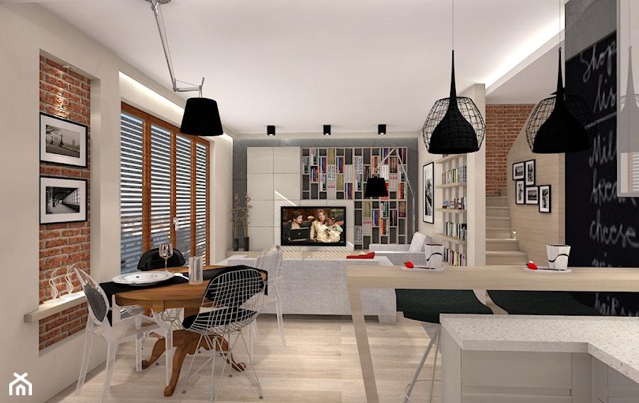 Loft zdj cie od architetto homebook for Salon loft metz