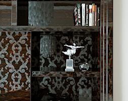 Apartament w centrum Warszawy - Małe białe biuro, styl klasyczny - zdjęcie od Nasciturus design