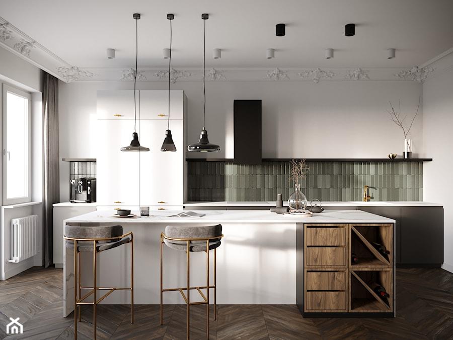 Kaliska - Kuchnia, styl eklektyczny - zdjęcie od Nasciturus design