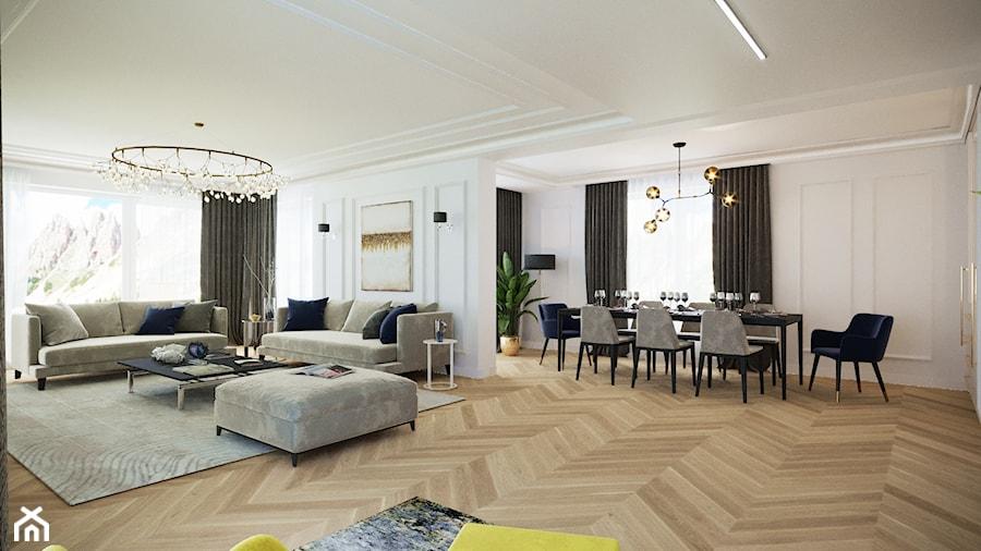 Dom na Słowacji - Salon, styl klasyczny - zdjęcie od Nasciturus design