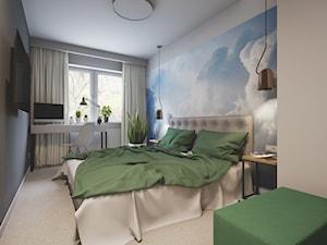 Sypialnia z kącikiem do pracy