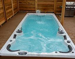 Basen z przeciwprądem wody Aquatrainer Swim Spa FX 19 - zdjęcie od Meadow Group - Homebook
