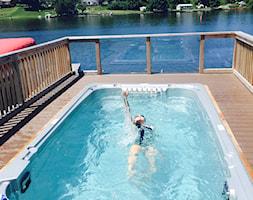 Basen z przeciwprądem wody Aquatrainer Swim Spa FX 14 - zdjęcie od Meadow Group - Homebook