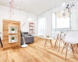 59 m2 na nowo - Jadalnia, styl skandynawski - zdjęcie od LIVING BOX