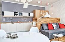 Salon styl Skandynawski - zdjęcie od LIVING BOX