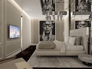 Apartament na Mokotowie w stylu glamour