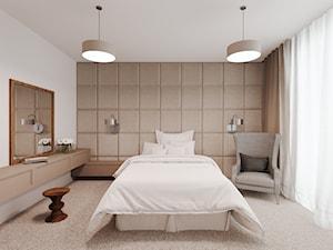 Dom udomowiony - Średnia biała sypialnia małżeńska, styl tradycyjny - zdjęcie od LIVING BOX