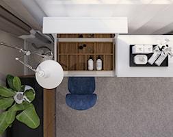 Eklektyczny - Beżowa biała sypialnia, styl tradycyjny - zdjęcie od LIVING BOX - Homebook