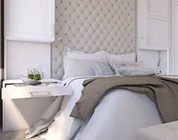 Eklektyczny - Średnia biała sypialnia małżeńska, styl klasyczny - zdjęcie od LIVING BOX - Homebook