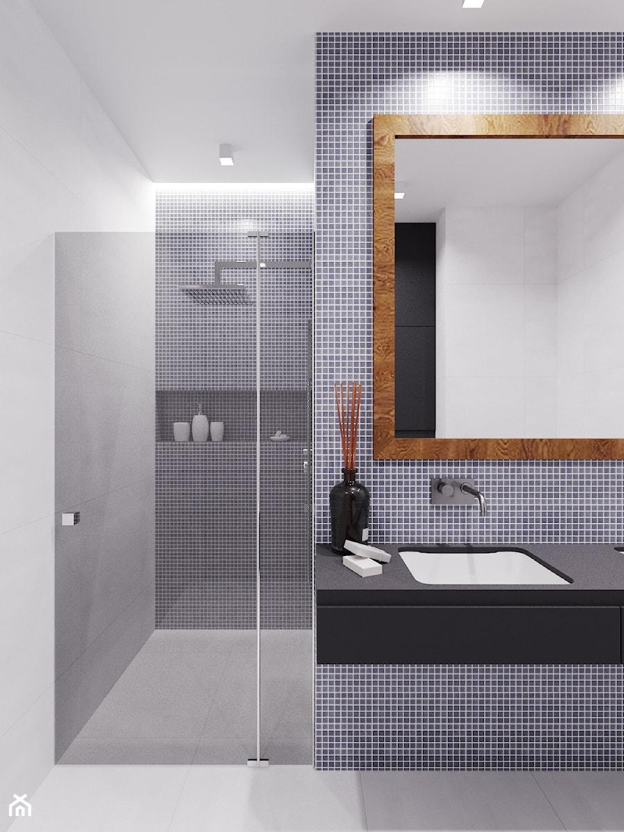 Dom udomowiony - Łazienka, styl nowoczesny - zdjęcie od LIVING BOX