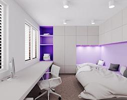 Dom udomowiony - Średni biały pokój dziecka dla dziewczynki dla nastolatka, styl nowoczesny - zdjęcie od LIVING BOX