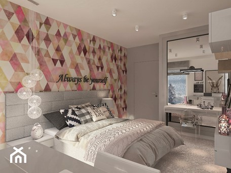 Aranżacje wnętrz - Sypialnia: Mieszkanie dla Młodego Piłkarza - Duża kolorowa sypialnia małżeńska, styl nowoczesny - LIVING BOX. Przeglądaj, dodawaj i zapisuj najlepsze zdjęcia, pomysły i inspiracje designerskie. W bazie mamy już prawie milion fotografii!