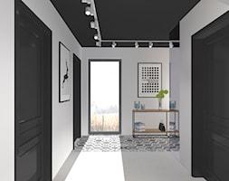 Urbanowicz 09 Dom Tychy - Średni szary pokój dziecka dla chłopca dla dziewczynki dla nastolatka, styl industrialny - zdjęcie od Urbanowicz Studio Architektury