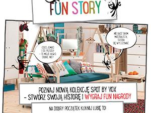 KONKURS FUN STORY -Poznaj nową kolekcję mebli SPOT by VOX