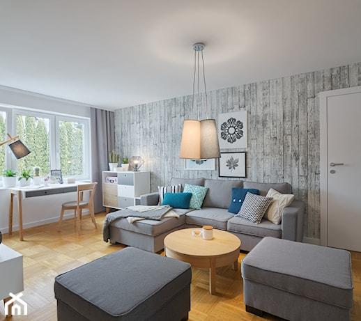 Marzenia się spełniają - metamorfoza salonu o pow. 25 m2