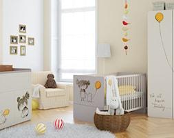 Średni beżowy pokój dziecka dla chłopca dla niemowlaka dla malucha, styl tradycyjny - zdjęcie od VOX