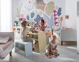 Kolekcja TULI - Mały biały szary pokój dziecka dla chłopca dla dziewczynki dla rodzeństwa dla malucha - zdjęcie od VOX