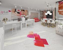 Salon kosmetyczny LIP LAB - Wnętrza publiczne, styl art deco - zdjęcie od JN STUDIO JOANNA NAWROCKA