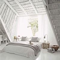 Pomysł na stylową sypialnię - pościel w roli głównej - Homebook.pl, Sypialnia