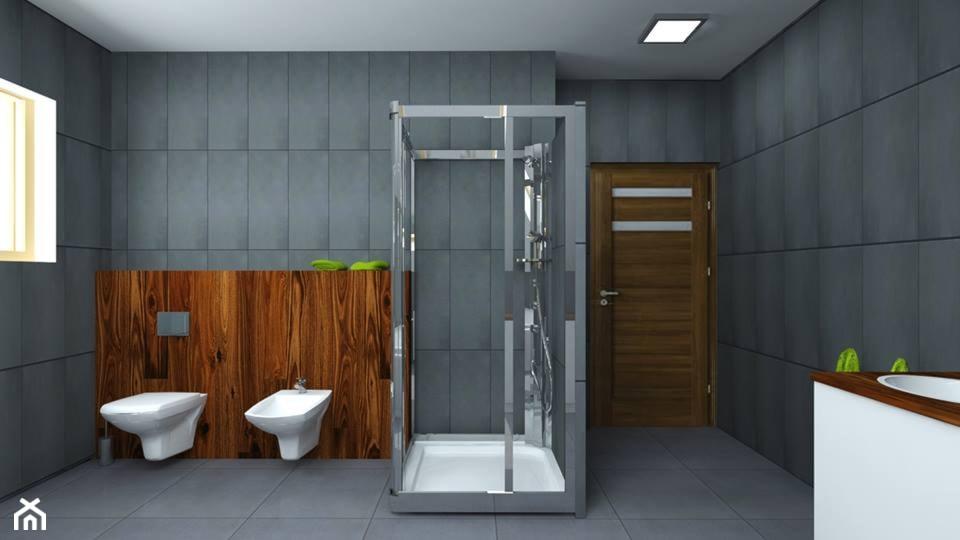 Łazienka 15m2 - zdjęcie od Wooow! projekt - Homebook