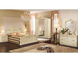 Produkt Sypialnia Luxor perła + złoto oferowany przez firmę Rad-Pol meble stylowe