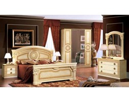 Produkt Sypialnia Aida Gold oferowany przez firmę Rad-Pol meble stylowe