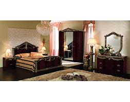 Produkt Sypialnia Luxor mahoń + złoto oferowany przez firmę Rad-Pol meble stylowe
