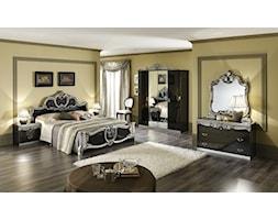 Produkt Sypialnia Barocco czarno-srebrna oferowany przez firmę Rad-Pol meble stylowe