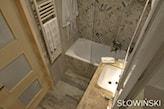 Łazienka w blokach - zdjęcie od Atelier Słowiński - Homebook