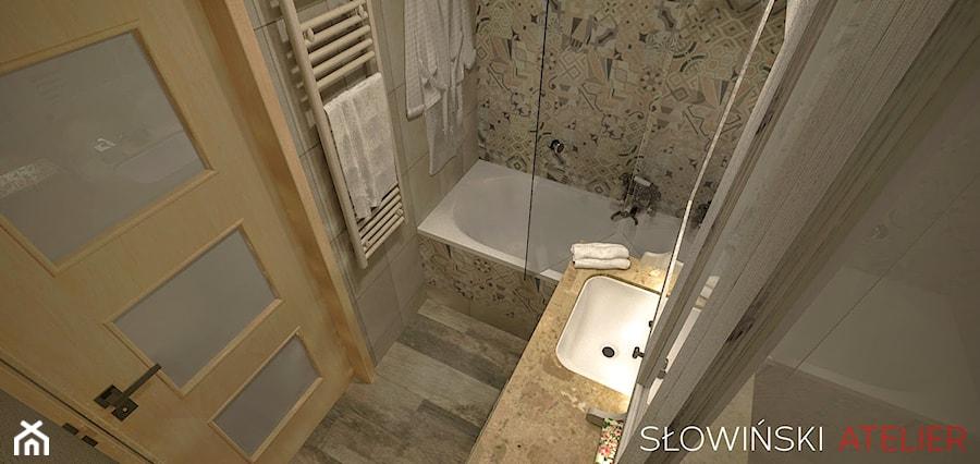 Łazienka w blokach - zdjęcie od Atelier Słowiński