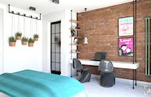 Sypialnia styl Industrialny - zdjęcie od ADV Design