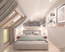 Sypialnia Tapeta Szara
