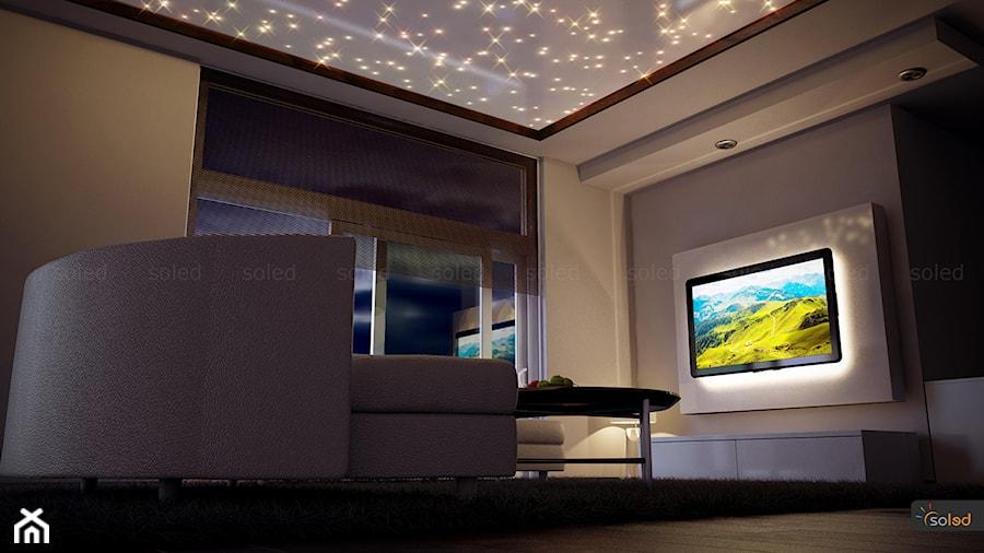 Nowoczesne Oświetlenie Salonu Zdjęcie Od Soled Projekty I