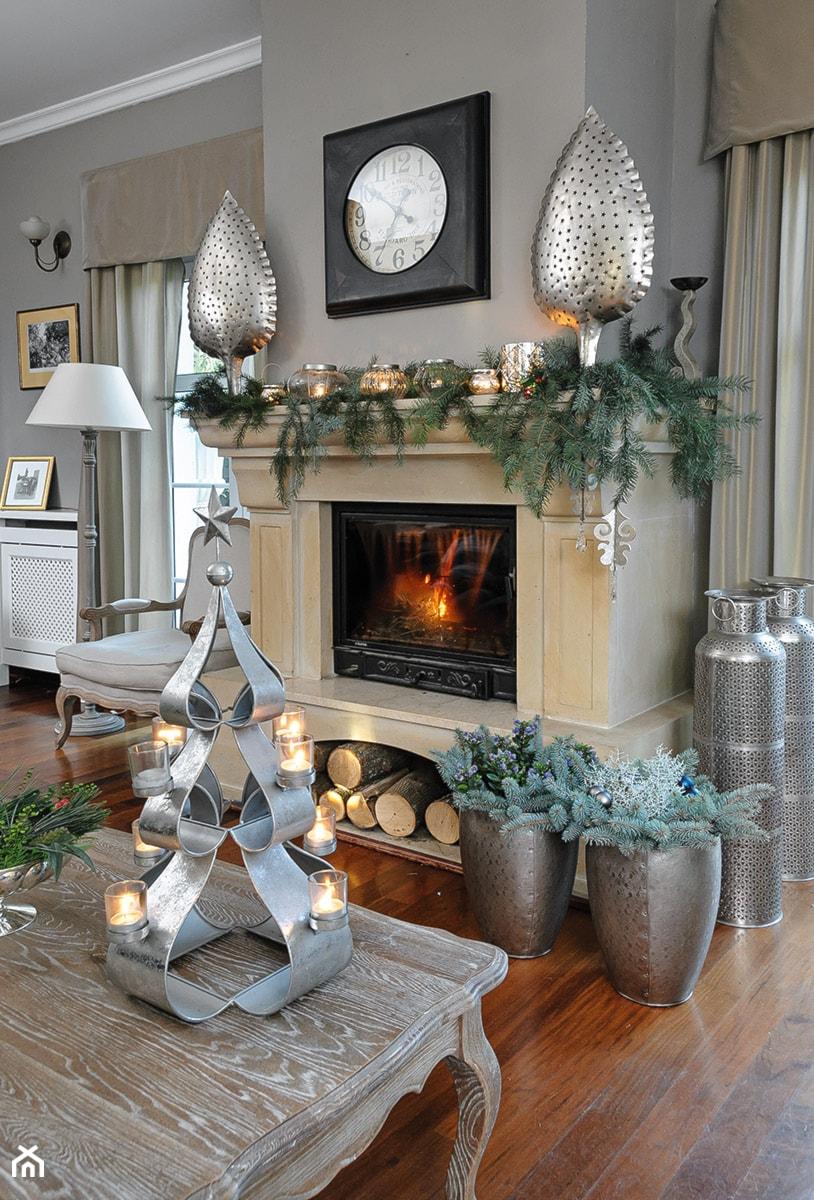 Dekoracje Na święta Bożego Narodzenia Zdjęcie Od