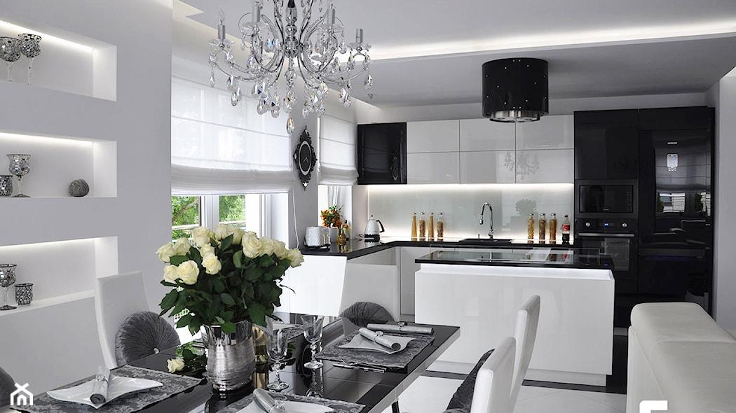 15 pomysłów na oryginalne wnętrze w stylu glamour  Homebook pl -> Kuchnia W Stylu Glamour Galeria