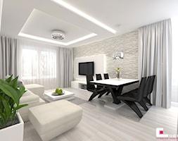 Salon Z Cegłą Na ścianie Aranżacje Pomysły Inspiracje Homebook