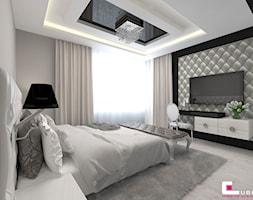 Sypialnia Ze Strukturą Dekoracyjną Na ścianie Aranżacje