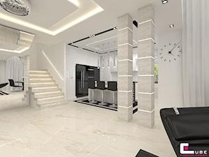 Projekt wnętrz domu - Schody, styl nowoczesny - zdjęcie od CUBE Interior Design