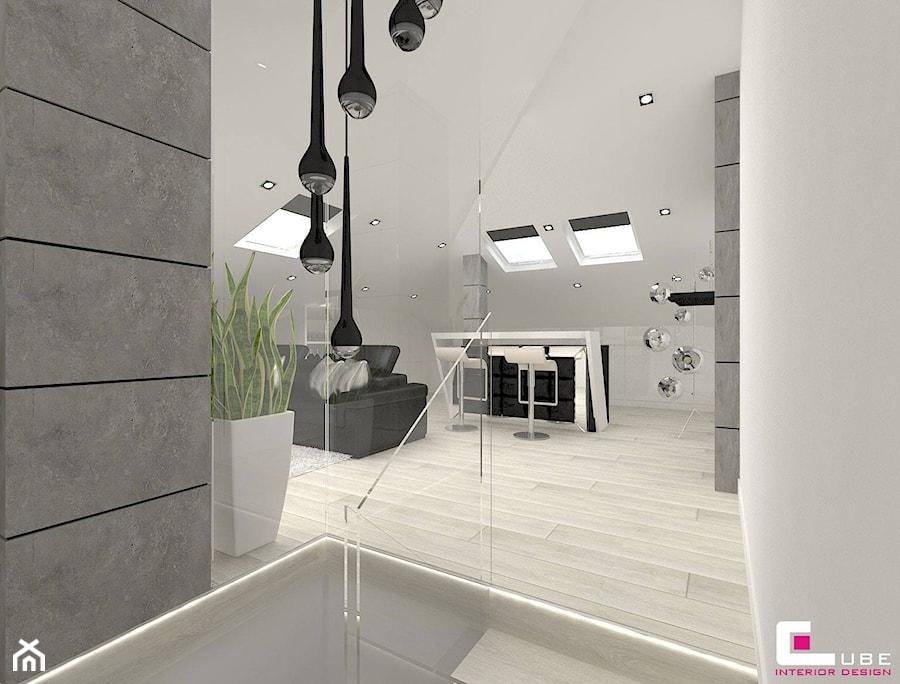 Dom w Markach - Schody, styl nowoczesny - zdjęcie od CUBE Interior Design