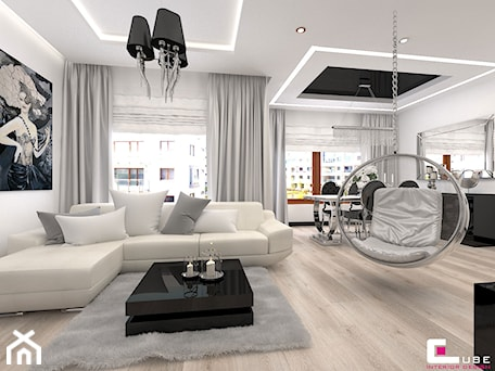 Salon styl glamour for Living room coiffeur