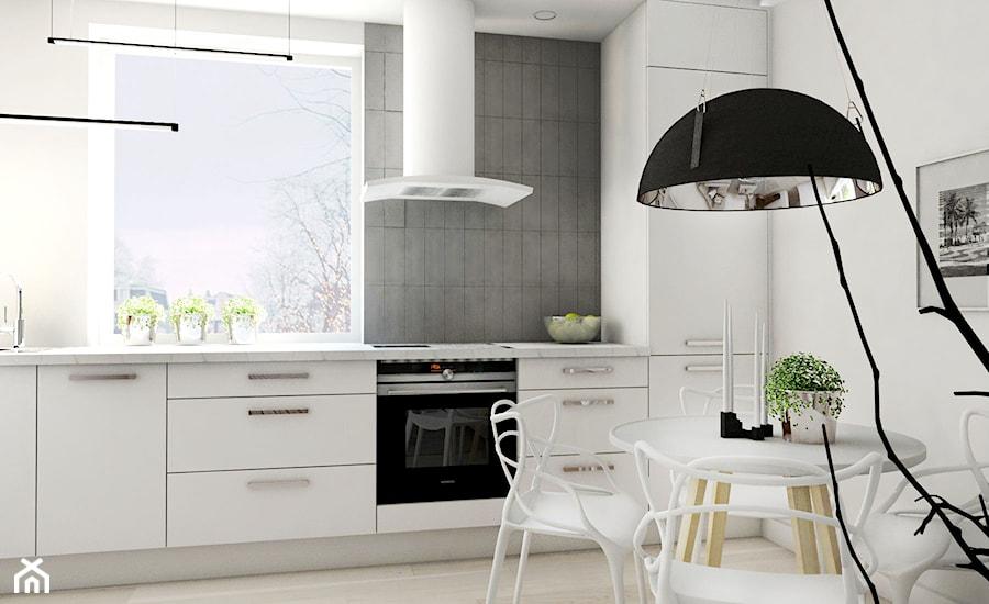 Mieszkanie - Gdynia Śródmieście - Kuchnia, styl skandynawski - zdjęcie od Autors.KA