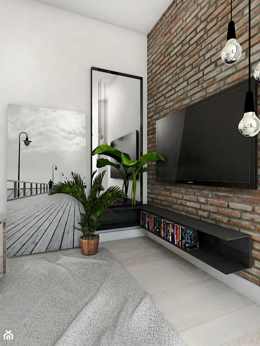 Mieszkanie - Gdynia Śródmieście - Salon, styl skandynawski - zdjęcie od Autors.KA