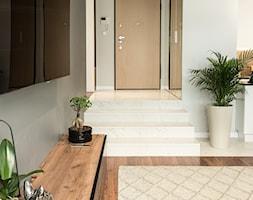 Apartament - Garnizon - Średni szary hol / przedpokój, styl nowoczesny - zdjęcie od Autors.KA - Homebook
