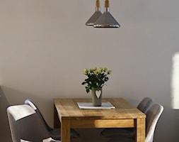 Mieszkanie - Gdynia Wielki Kack - Mała biała jadalnia, styl skandynawski - zdjęcie od Autors.KA