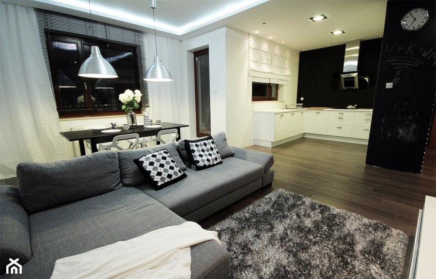 salon nowoczesny - zdjęcie od Studio Projektowe Dekoratorni