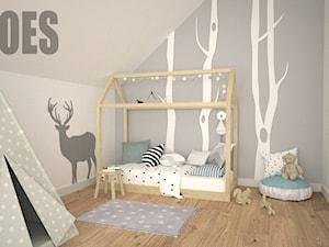Pokój dla chłopca w stylu skandynawskim