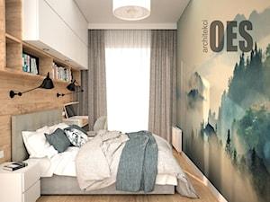 Przytulna sypialnia z toaletką